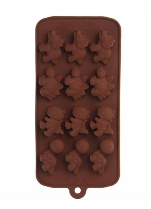 "Форма для шоколада ""Дино"""