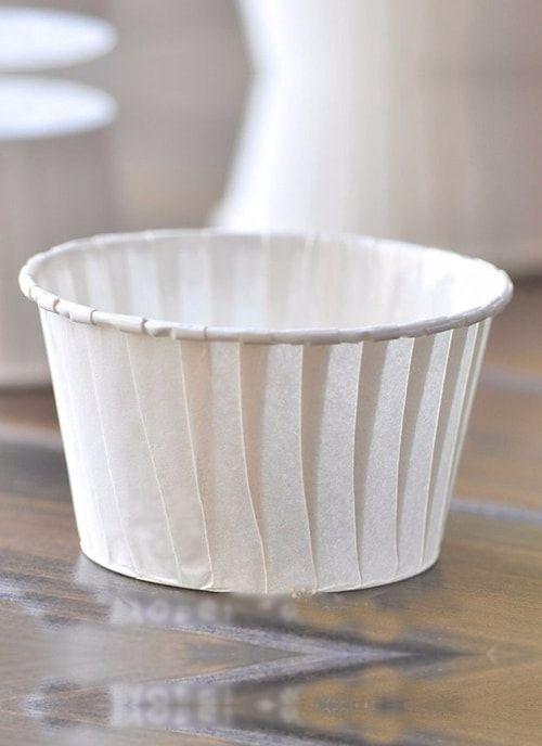 Форма для капкейка Белая