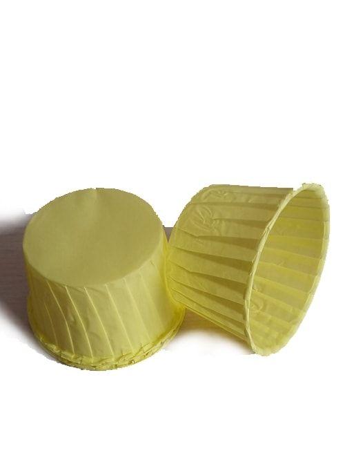 Форма для капкейка Желтая