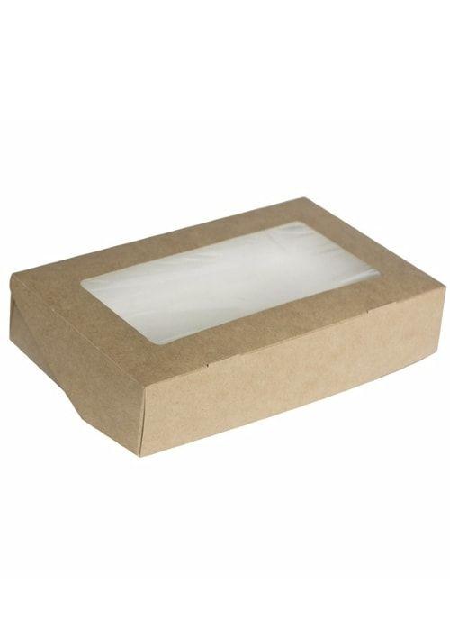 Коробочка белая/крафт 200*120*40мм