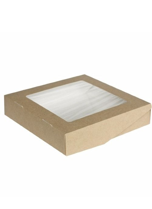 Коробочка белая/крафт 200*200*40мм