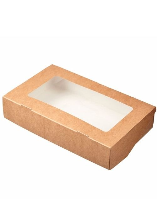 Коробочка Белая/Крафт 250*150*40мм