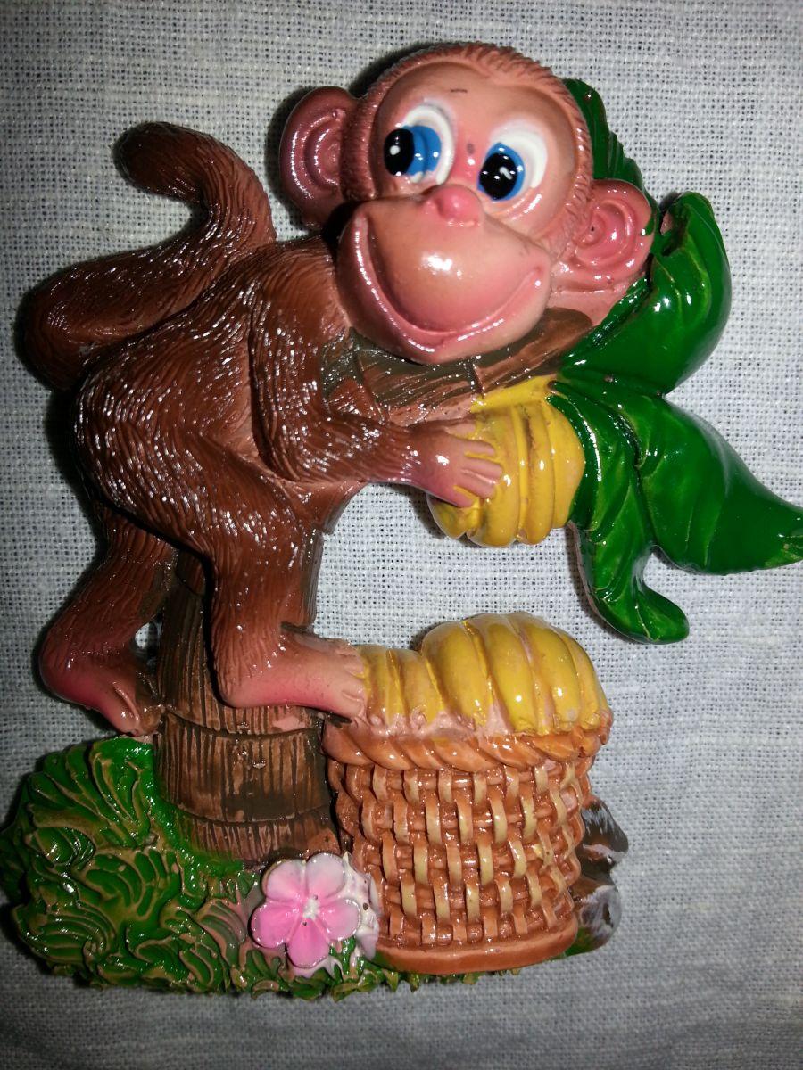 Магнит на холодильник обезьянка 003-3