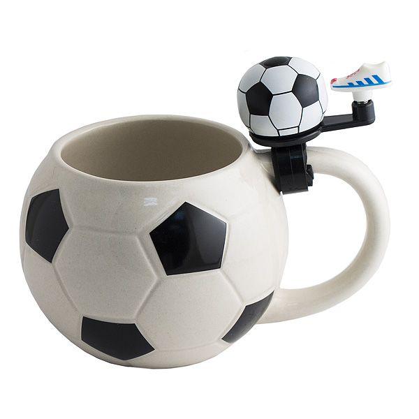 Кружка Футбол с звонком