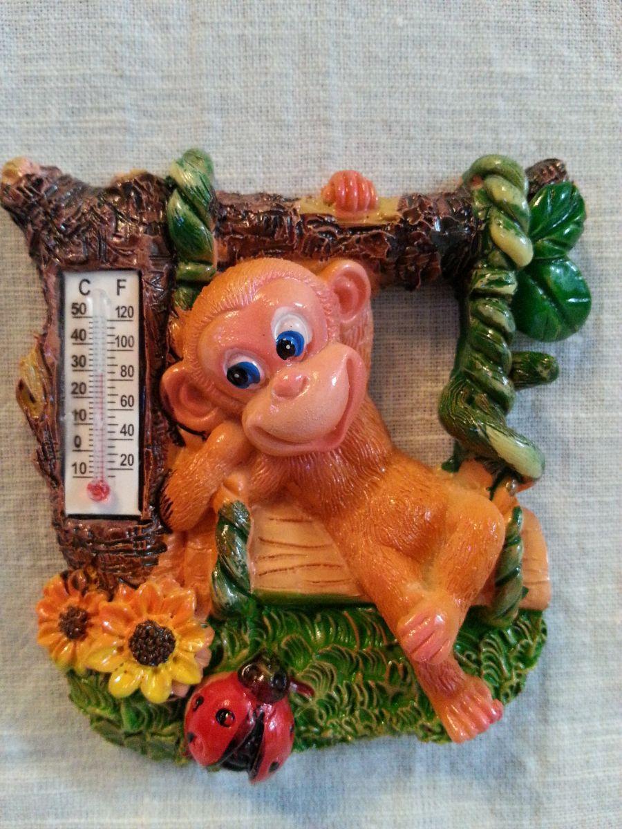 Магнит на холодильник обезьянка 004-1