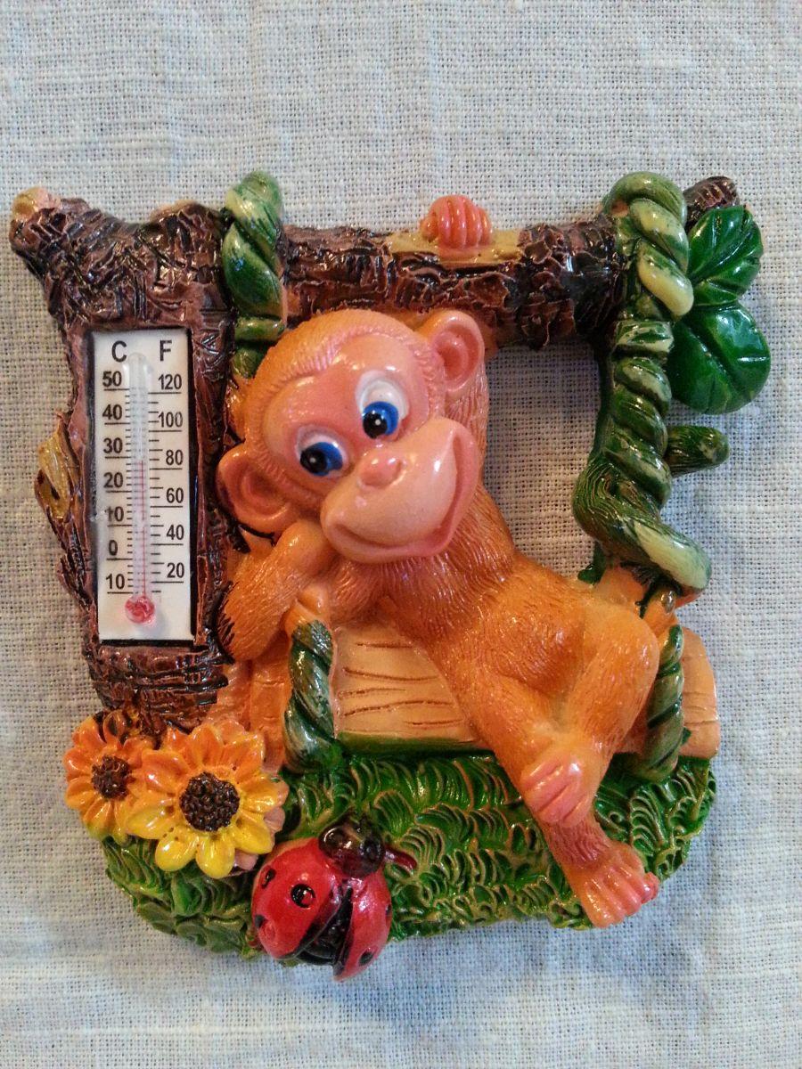 Магнит на холодильник обезьянка 004-3