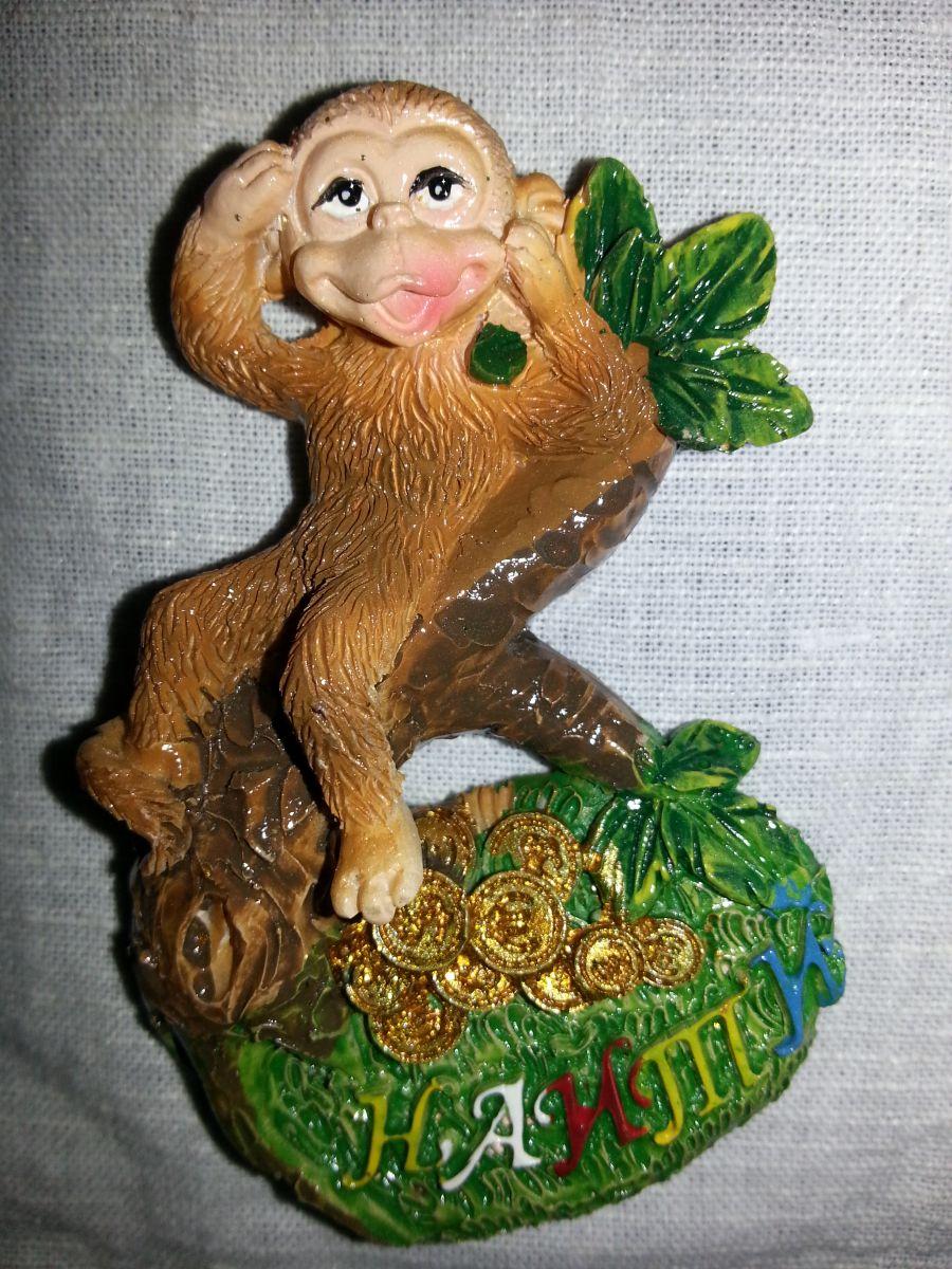 Магнит на холодильник обезьянка 005-2