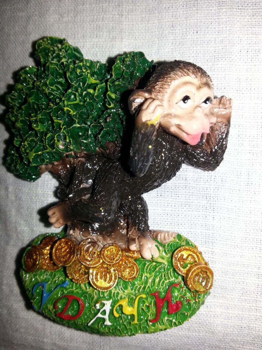 Магнит на холодильник обезьянка 005-4