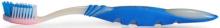 Зубная щётка Серебряный блеск голубая