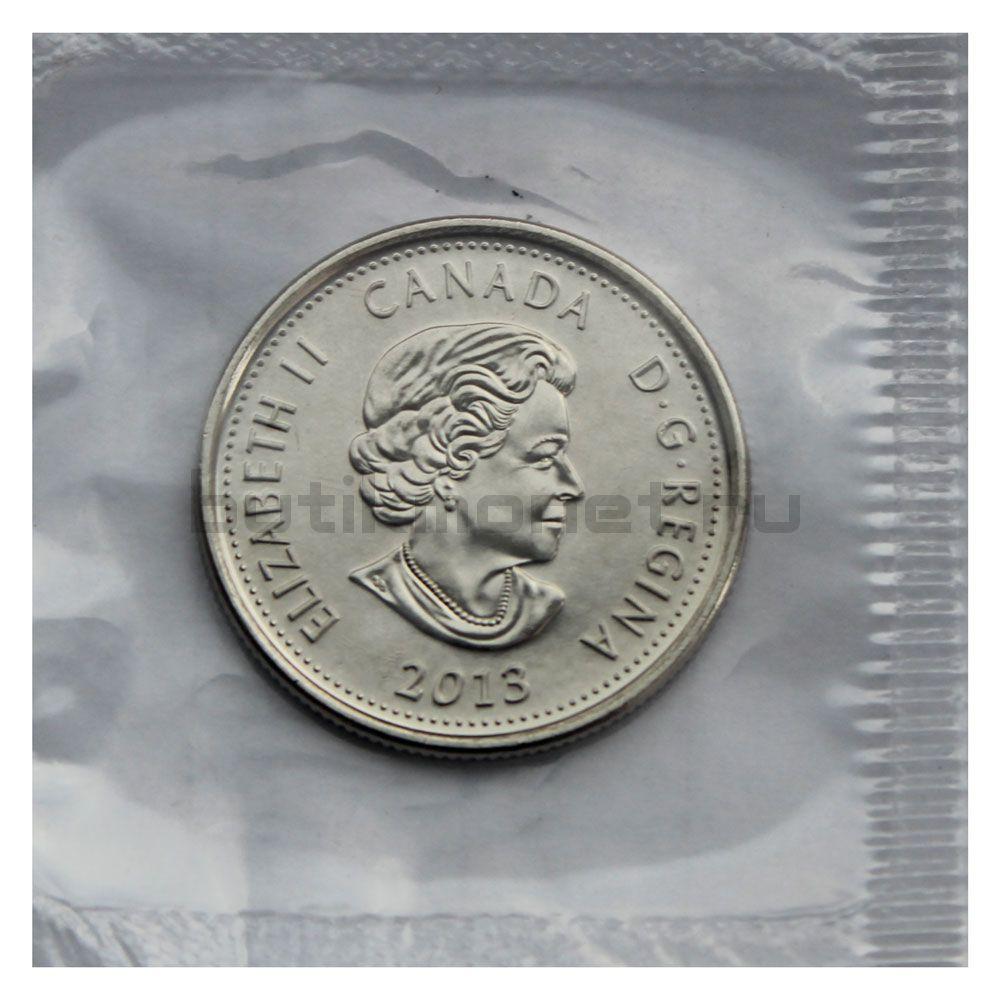 25 центов 2013 Канада Шарль-Мишелю де Салаберри (Война 1812 года)