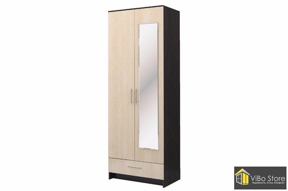 Шкаф 2-х дверный Николь из материала ЛДСП