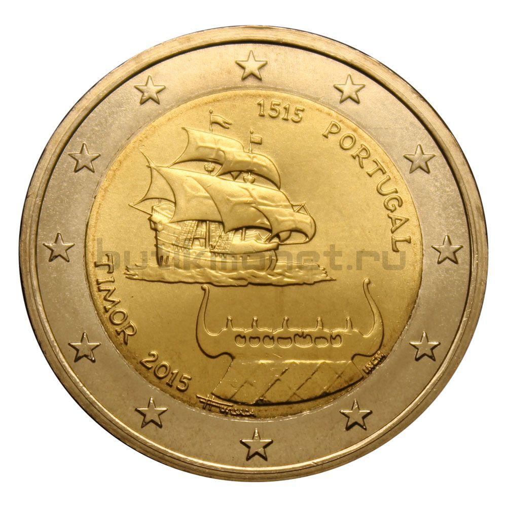 2 евро 2015 Португалия 500 лет первому контакту с Тимором