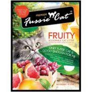 """Fussie Cat """"Фруктовый"""" Комкующийся наполнитель (10 л)"""