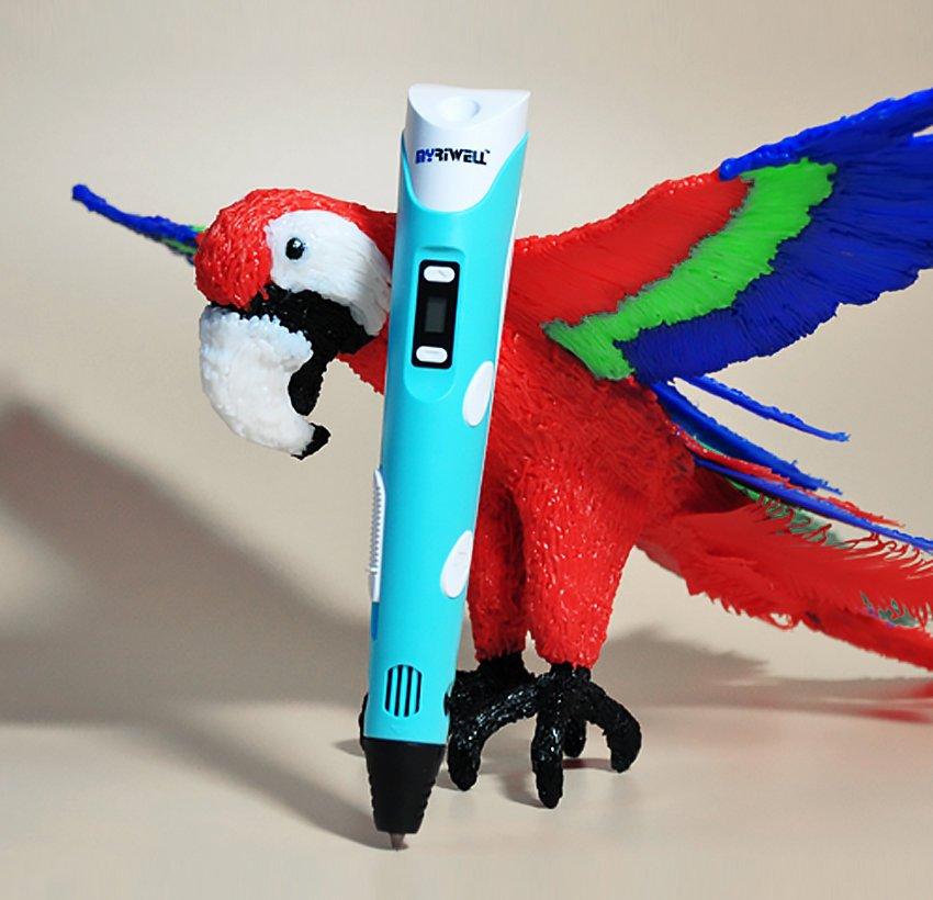 Набор пластика для 3d ручки 5 цветов