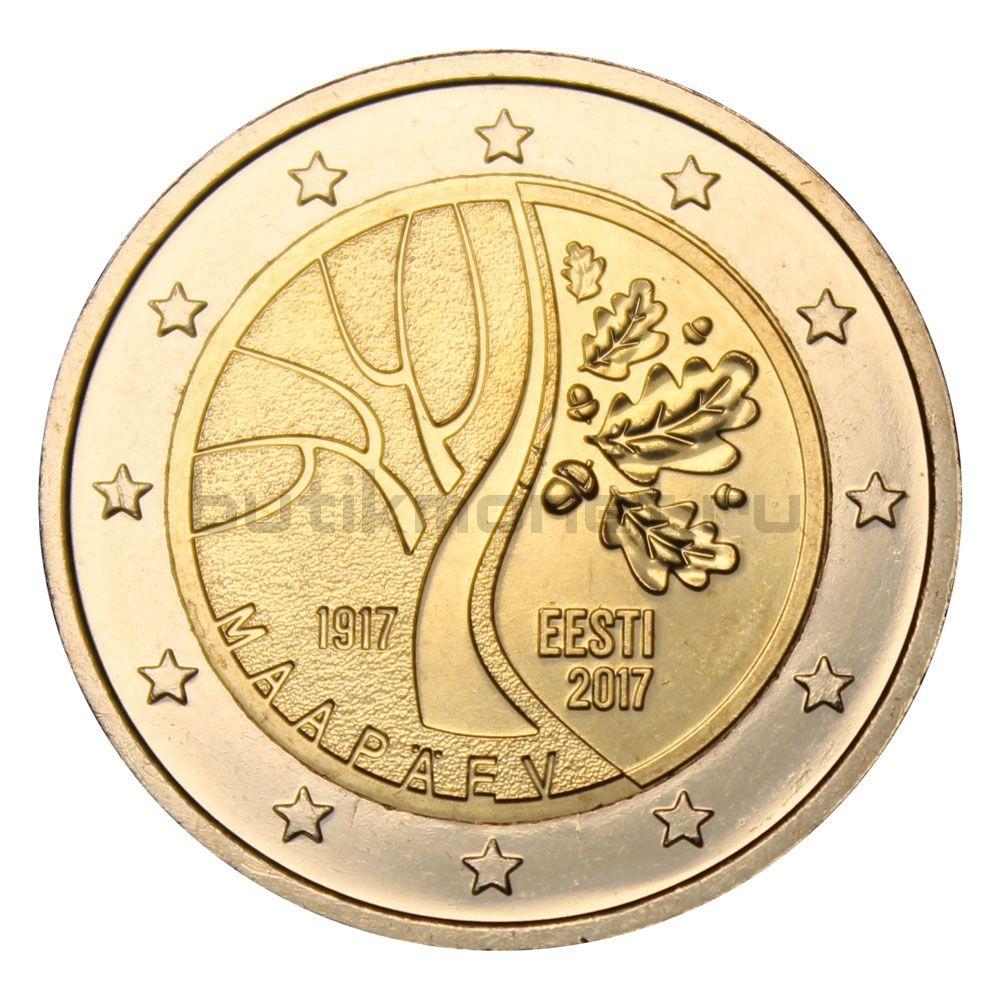 2 евро 2017 Эстония Путь к независимости
