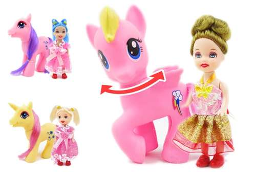 """""""Мелочь, а приятно"""" 1 TOY пони с куколкой"""