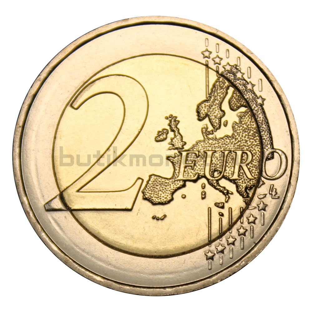 2 евро 2018 Франция 100 лет со дня окончания Первой Мировой войны