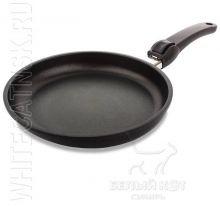 Сковорода Lotan с крышкой и съёмной ручкой 24 х 4 см