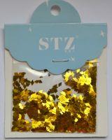 Ромбики STZ для дизайна ногтей «Золото»