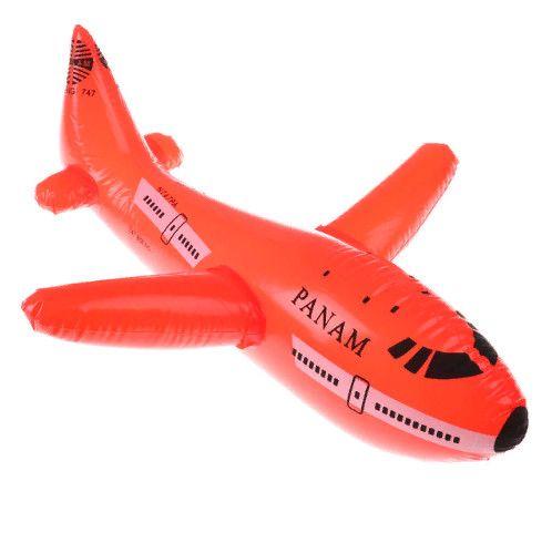 Надувная игрушка Самолёт (33х35 см)