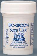 Bio-Groom Sure Clot Кровоостанавливающая пудра быстрого действия (14 г)