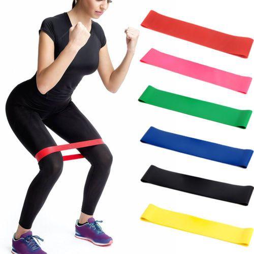 Набор резинок для фитнеса различной нагрузки (5 шт)