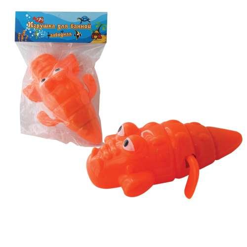 """Заводная игрушка для ванной """"Тилибом"""" 1 TOY Крокодил, 15 см"""