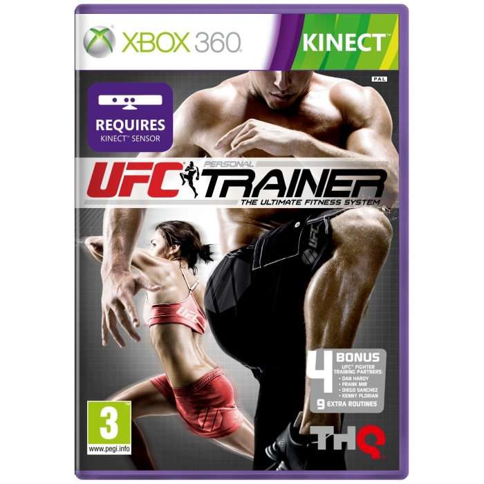 Игра UFC Personal Traainer The Ultimate Fitness System (Xbox 360 Kinect)