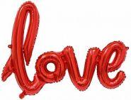 """Надпись """"Love"""", красный, 41""""/ 104 см, Китай"""