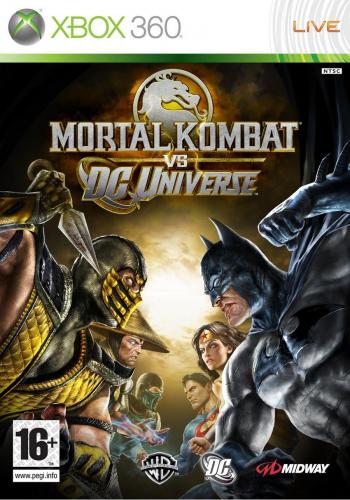 Игра Mortal Kombat vs DC Universe (Xbox 360)