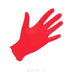 Перчатки NitriMax Красные р. S , уп. 50 пар