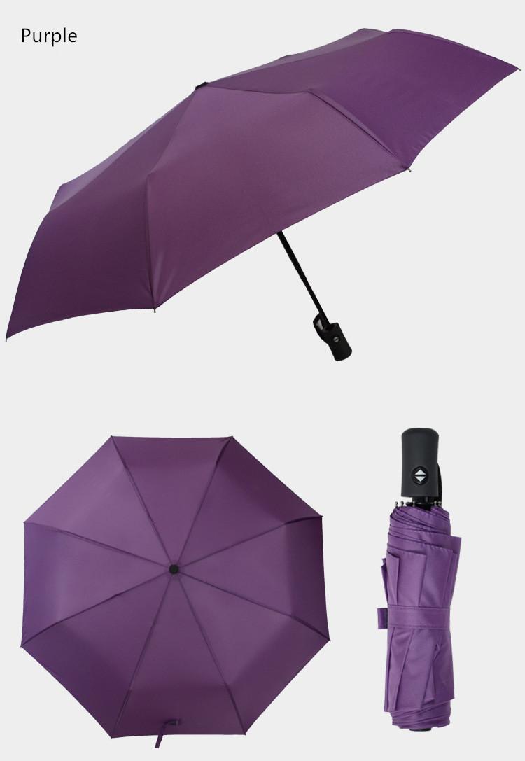 Карманный зонт umbrella фиолетовый
