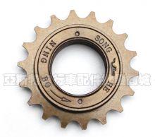 "Кассета-трещетка велосипедная для Singlespeed 1/2x1/8"" 16T, резьба BSA шарикоподшипники"
