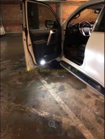 Подсветка в двери диодная для Toyota Land Cruiser