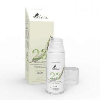 Sativa №23 Крем для лица дневной для нормального и комбинированного типа кожи EVERY DAY 50 мл