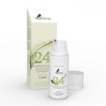 Sativa №24 Крем для лица дневной питательный для нормального и сухого типа кожи EVERY DAY 50 мл