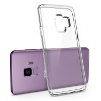 Чехол Spigen Ultra Hybrid для Samsung Galaxy S9 прозрачный