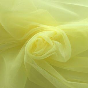 Мягкий фатин Пастель- желтый