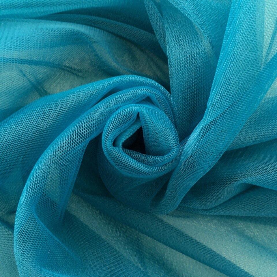 Мягкий фатин Пастель - морская волна