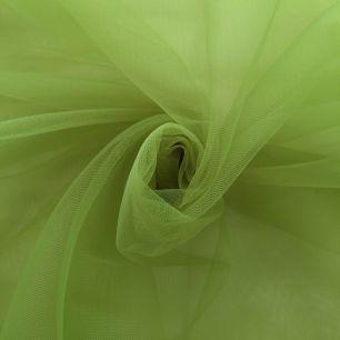 Мягкий фатин (еврофатин) 300х25 см- весенне-зеленый