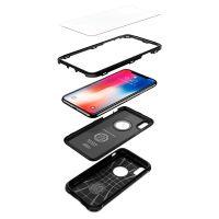 Чехол Spigen Pro Guard для iPhone X черный