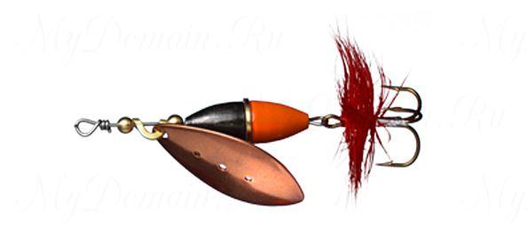 БЛЕСНА MYRAN WIPP 3г, цв. Koppar Orange/Svart
