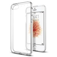 Чехол Spigen Liquid Air для iPhone 5/5S/SE прозрачный