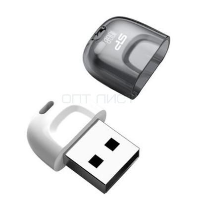 USB накопитель Silicon Power 8GB Touch T09, White