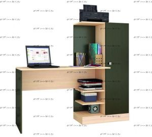 Стол компьютерный Квартет-6 (145х50х135)
