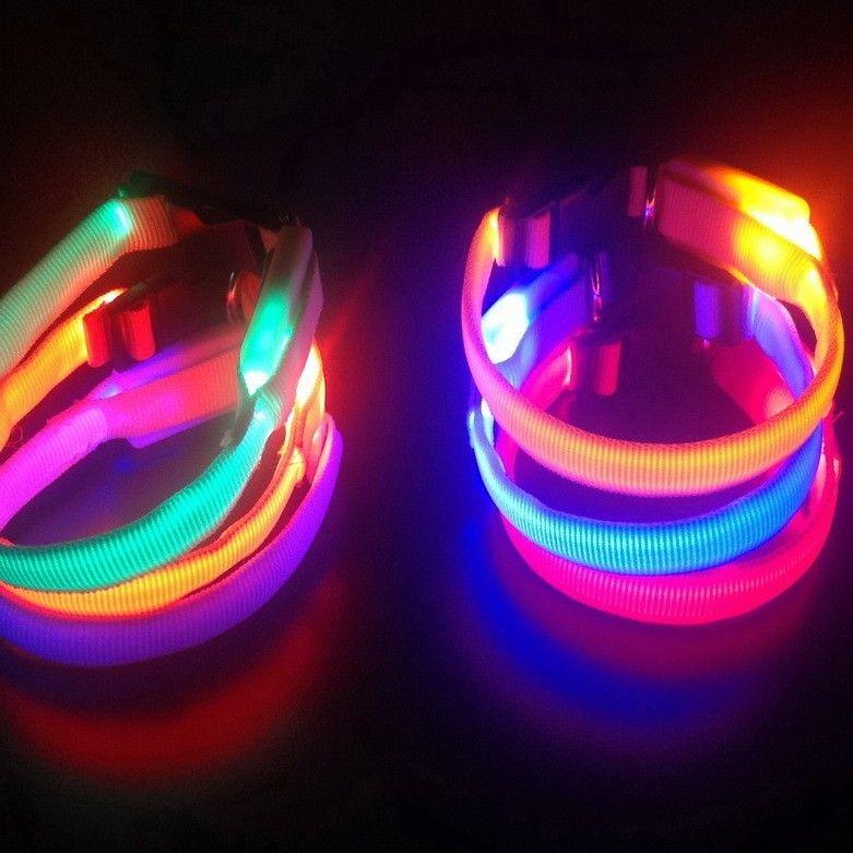 Светящийся ошейник (Цвет: Голубой)