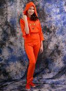 трикотажный женский костюм