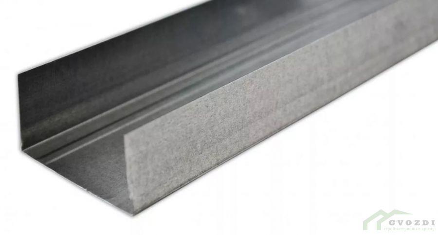 Профиль  для гипсокартона, UW 100х40х0.44, длина 4 м, (ПН профиль)