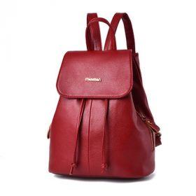 Рюкзак бордовый женский городской Шанери