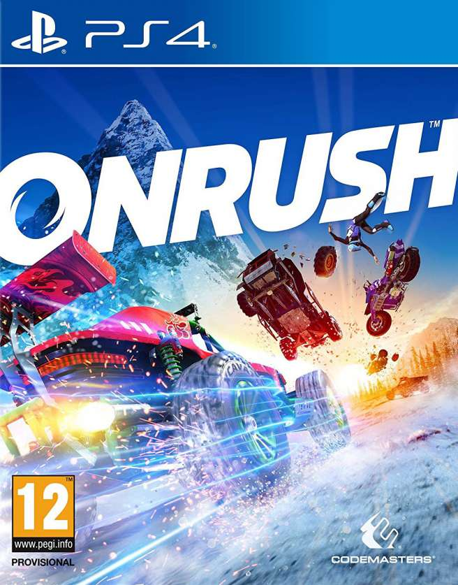 Игра Onrush (PS4)